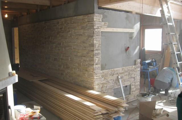 Vnitřní obklady stěn ve srubu