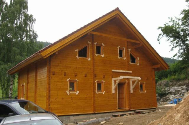 Srubový dům Rejchartice