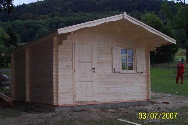 Dřevěná chatka Kopřivnice