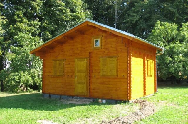 Malý dřevěný domek Bělotín