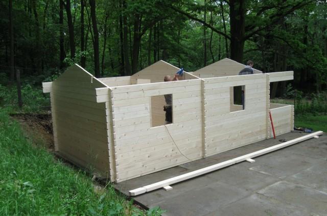 Srubové chaty Velká Kraš