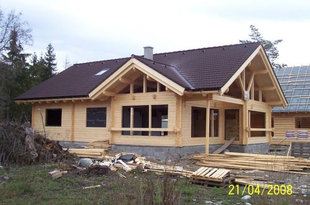 Moderní srubový dům Pribylina