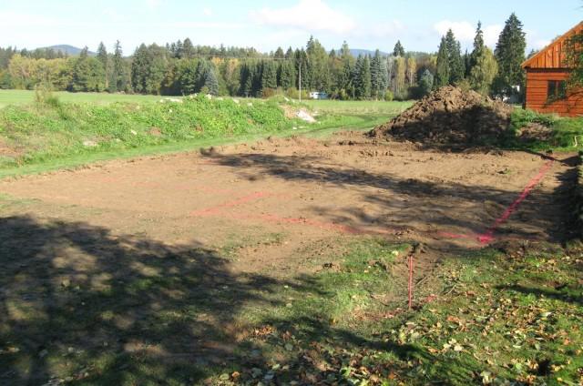 Přízemní dřevostavba Velké Losiny