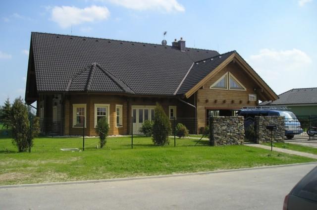 Luxusní srubový dům Rusovce