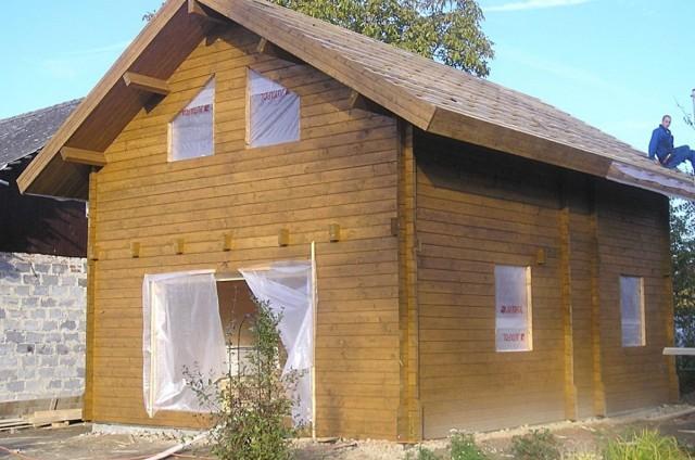 Srubový dům Paskov