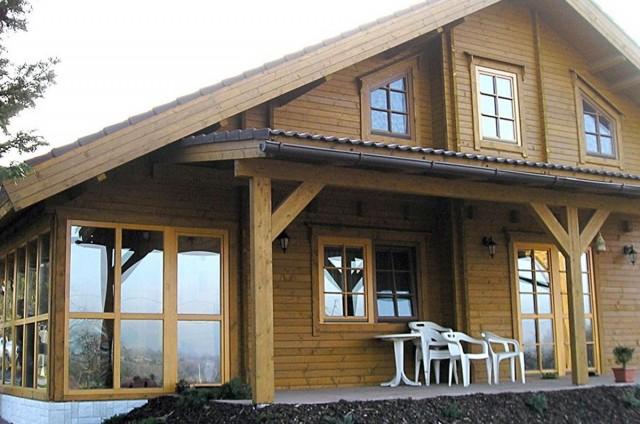 Srubový dům Lískovec