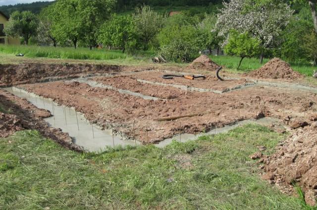 Základy srubového domu