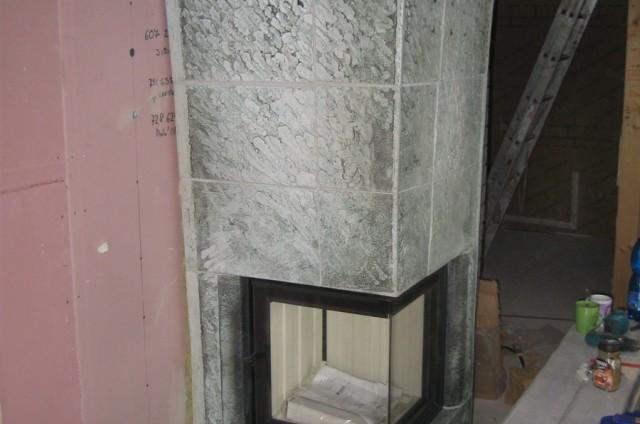 Krbová kamna srubového domu