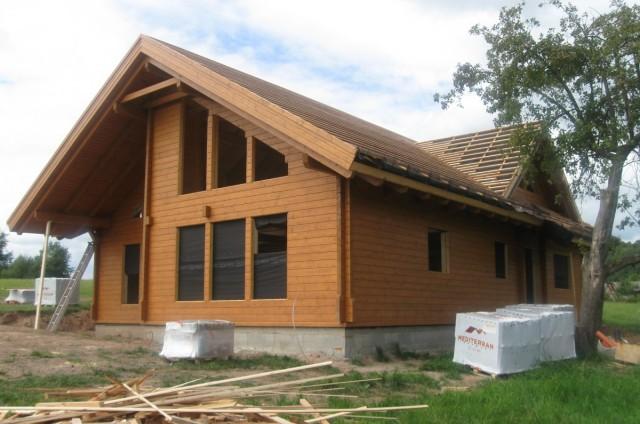 Srubový dům na klíč Vrchlabí