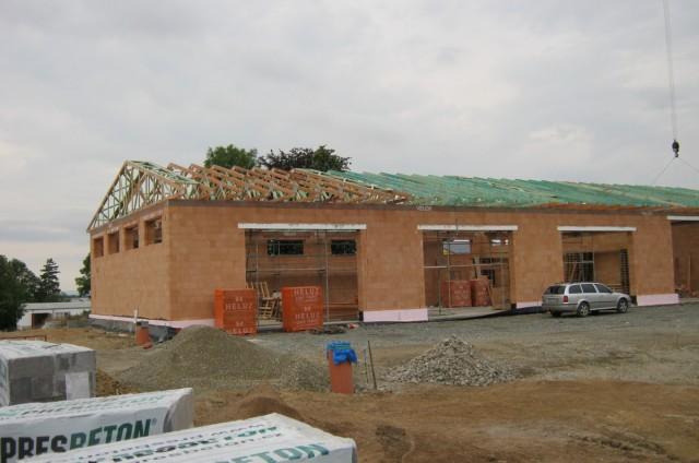 Administrativní budovy - tesařské práce