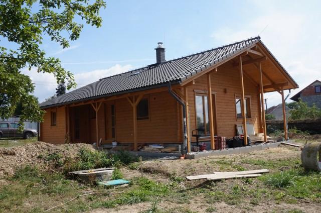 Srubový bungalov Olomouc