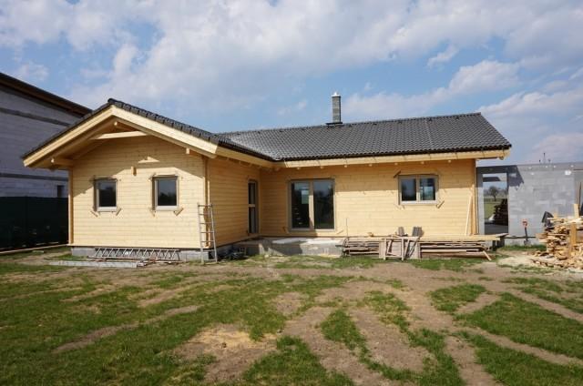 Přízemní srubový dům Holešov