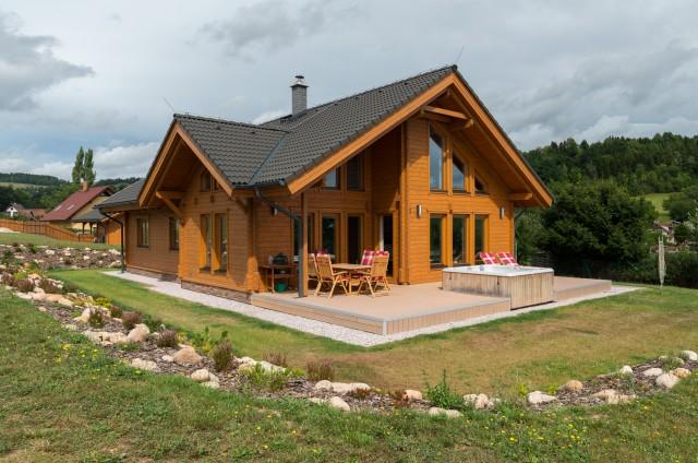 Srubové a roubené domy