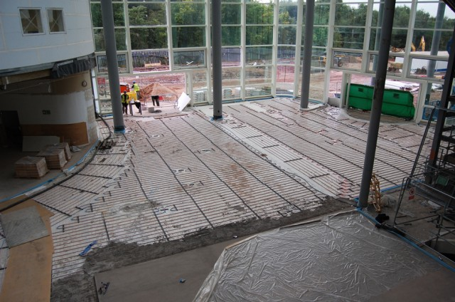 Podlahové vytápění Multibeton