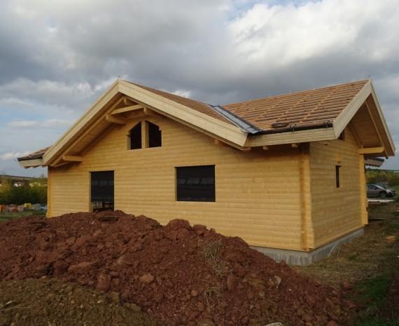 Zateplení střechy srubu