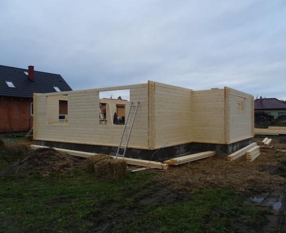 Realizace srubového domu
