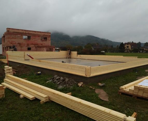 Realizace dřevostavby