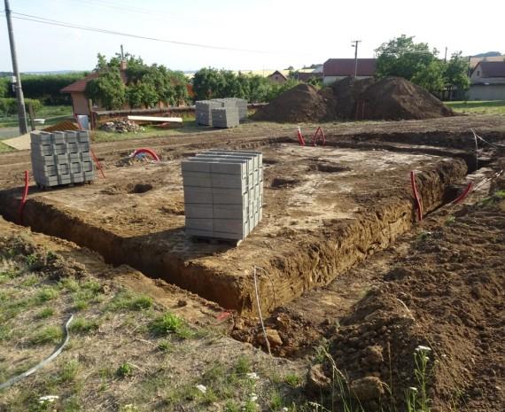 Přízemní srubový dům Uničov
