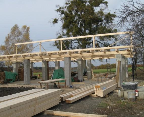 Střecha na stodole