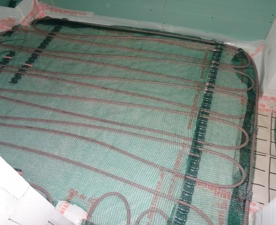 Montáž podlahového vytápění Multibeton