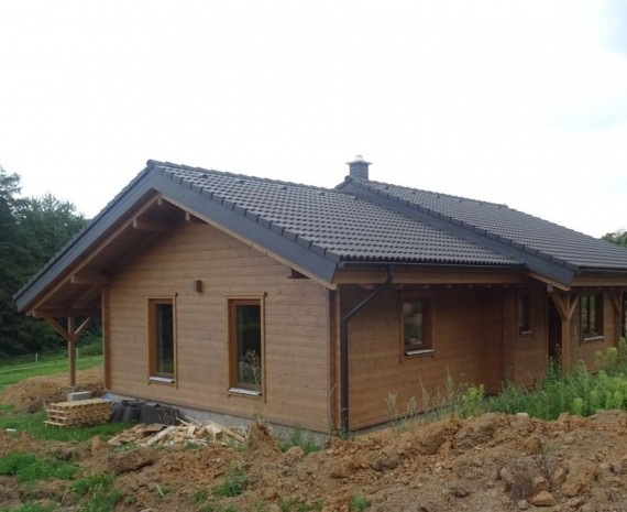 Přízemní srub nedaleko Prahy