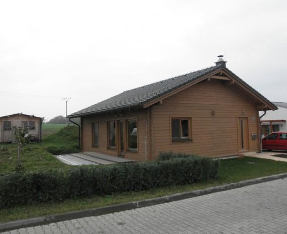 Přízemní srub Brno