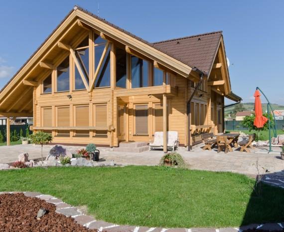 Luxusní srubový dům Kotešová