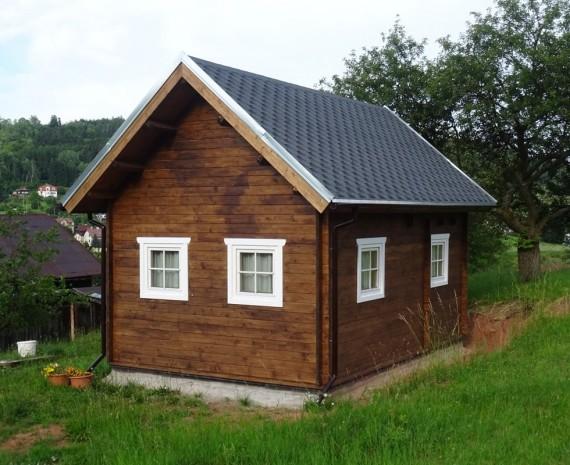 Víkendový srubový dům Jičín