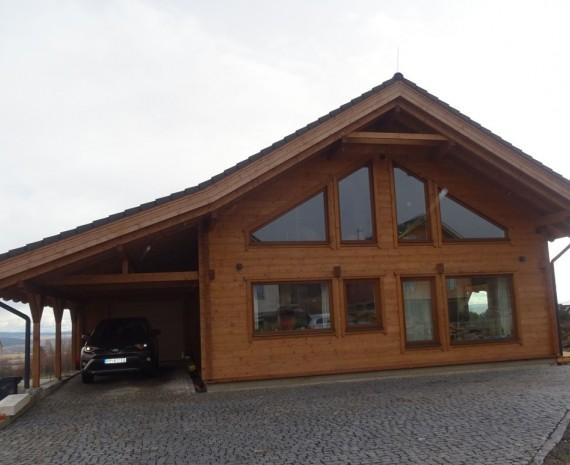 Srubový dům pod Vysokými Tatrami